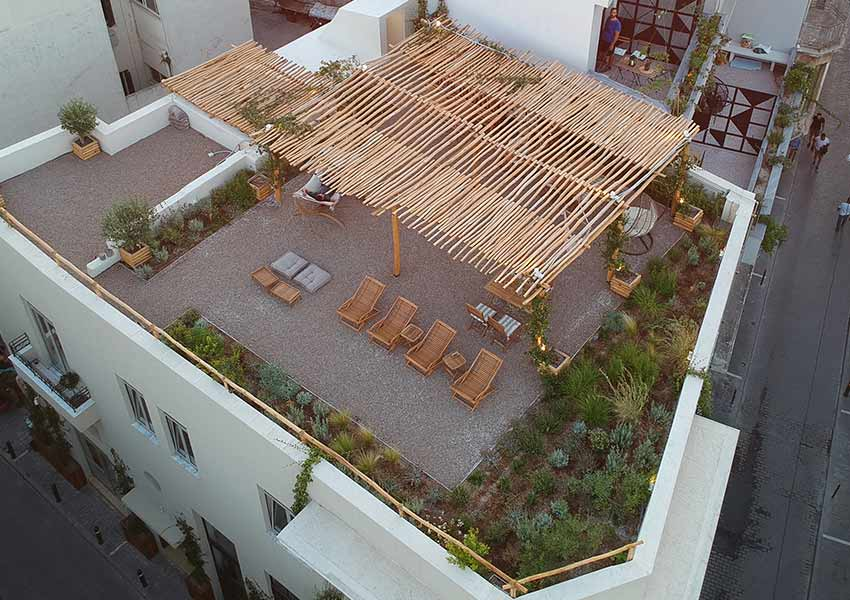Roof garden Athens