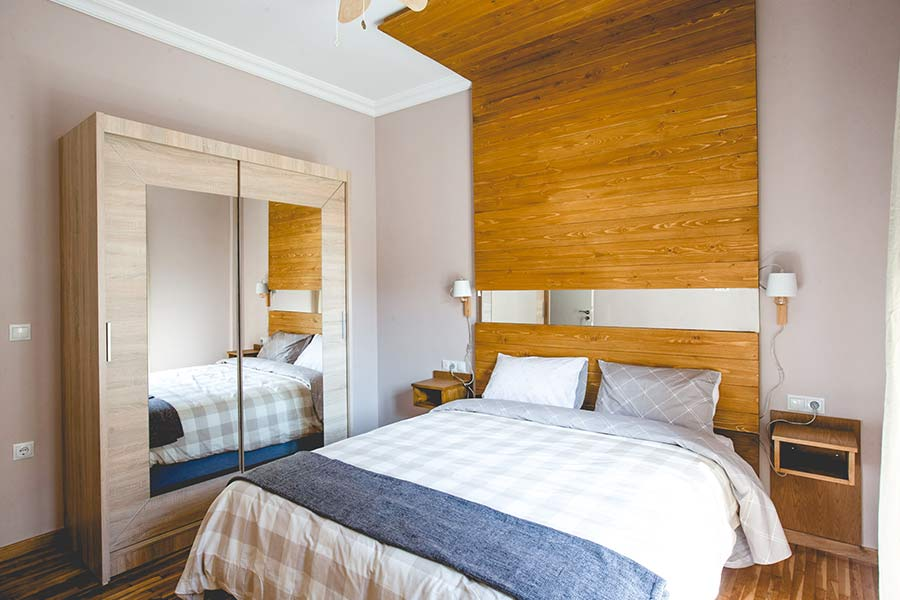 bedroom of Ederlezi the best place to stay in Athens